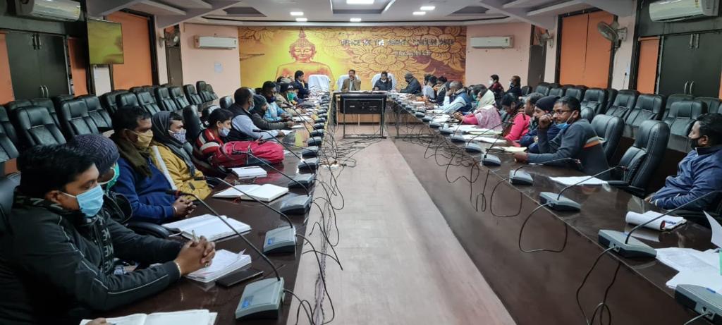 पेयजल एवं स्वच्छ भारत मिशन की समीक्षा बैठक